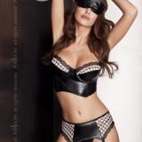 Set Virgin Negru L/XL - Lenjerie sexy femei