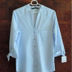 Camasa Zara femei, bleu, marime XS - Camasa dama Zara, Marime: 34