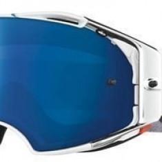 MXE Ochelari motocross Oakley MX Brille Airbrake Villopoto High Octane alb Cod Produs: 704625AU