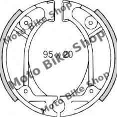 MBS Set saboti frana Honda Dio/ Vision/ ZX Kymco 50, Cod Produs: 225120070RM - Saboti frana Moto