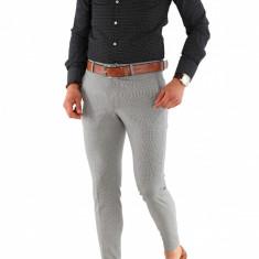 Camasa imprimeu - camasa barbati - camasa slim - camasa fashion - cod 8486, Marime: S, M, XL, Culoare: Din imagine, Maneca lunga