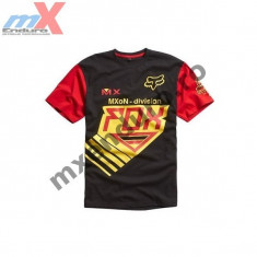 MXE Tricou barbati Fox Mxon Raczen culoare negru/galben Cod Produs: 09857-019 - Sosete barbati