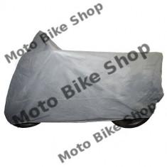 MBS Prelata moto de interior gri 203x89x119 cm (marime M), Cod Produs: 7115611MA - Husa moto