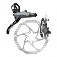Set Frana Etrier+Disc Hidraulic Avid Elixir 7 Carbon fata-stanga, L850, disc HS1-160, mont IS/PMPB Cod:AVD-20329 - Piesa bicicleta