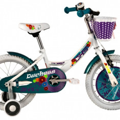 Bicicleta Copii DHS Duchess 1602 (2016) Culoare AlbPB Cod:216160290
