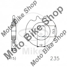 MBS Pinion fata moped 415 Z11, Cod Produs: 7267446MA - Pinioane Moto