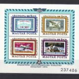 UNGARIA 1974, Aerophila'74, serie neuzata, MNH - Timbre straine, Nestampilat