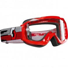MXE Ochelari cross Scott MX Hustel PTC/SGL, culoare rosii Cod Produs: 218140-0004102 - Pinioane Moto