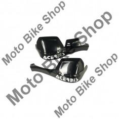 MBS Spoiler extra pentru protectii maini Acerbis, negre, include kit de montaj, Cod Produs: 10019645LO - Componente moto