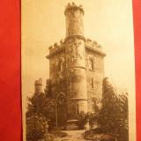 Ilustrata Craiova - Castelul si Parcul Bibescu - ocupatia germana - Carte Postala Oltenia dupa 1918, Necirculata, Printata