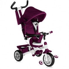 Tricicleta B302A 2016 Violet White - Tricicleta copii