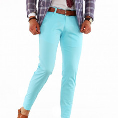 Pantaloni casual eleganti - pantaloni barbati slim fit office - 8498, Marime: 30, 31, 32, 33, 34, 36, Culoare: Din imagine