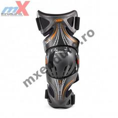MXE Protectii genunchi KTM Fluid Tech (DREAPTA), culoare neagra Cod Produs: 3PW142010X