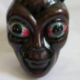 Cap de extraterestru, SF, ET, din ceramica, marime naturala, decor, petrecere