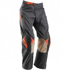 MXE Pantaloni enduro Thor Off Road, gri/charcoal/portocaliu Cod Produs: 29015335PE - Imbracaminte moto