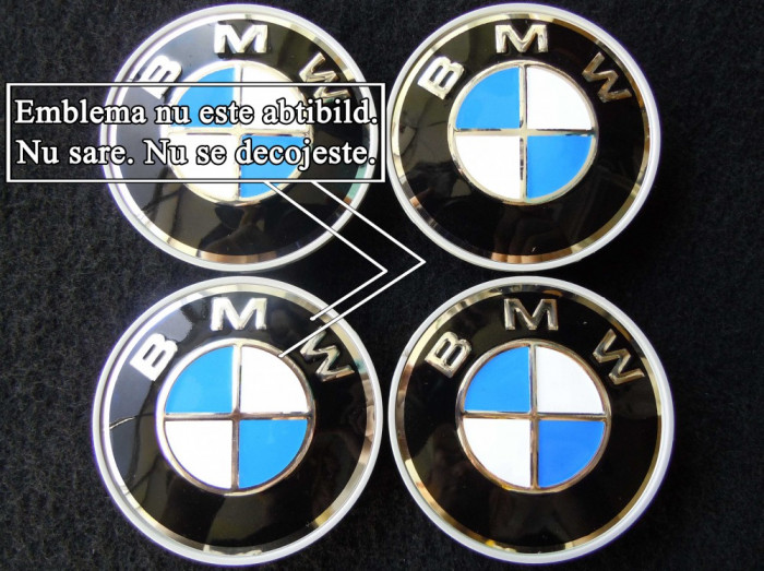 Capacele BMW pentru jante originale din aliaj