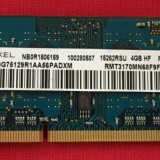 Ram laptop Ramaxel 4GB PC3-12800 1.35V DDR3 1600MHz RMT3170MN68F9F-1600