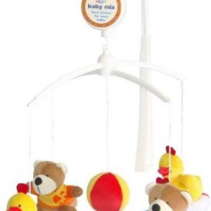 Carusel Muzical Bears & Ducks - Jucarie interactiva Baby Mix