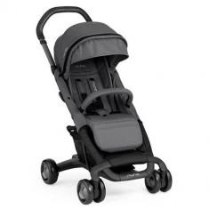 Carucior Ultracompact Pepp Luxx cu Bara de Protectie Graphite - Carucior copii 2 in 1 Nuna