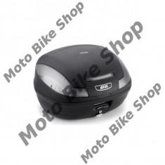 MBS Topcase Givi E470 Tech, negru mat, 47L, Cod Produs: E470NTAU - Top case - cutii Moto
