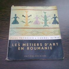 LES METIERS D'ART EN ROUMANIE - PAUL PETRESCO