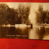 Ilustrata Bucuresti Gradina Cismigiu 1939 - Carte Postala Muntenia dupa 1918, Circulata, Fotografie