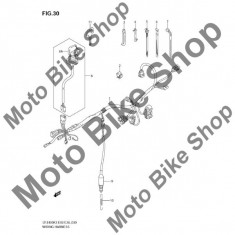 MBS Arc intrerupator stop 2003 Suzuki QuadSport (LT-Z400) #10, Cod Produs: 4311507G00SU - Intrerupator Moto