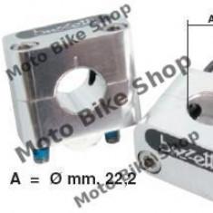 MBS Inaltator ghidon d.22.2mm, Cod Produs: 2401BU - Adaptor pipa ghidon