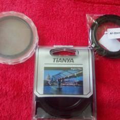 Set 2 Filtre Foto (55mm) + inel adaptor - Filtru foto Kenko