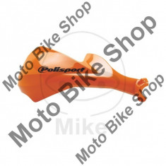MBS Set protectii maini Polisport Sharp, pt ghidon 22-28, portocaliu, Cod Produs: 7160212MA - Componente moto