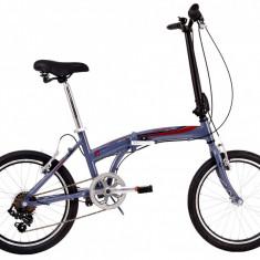 Bicicleta Pliabila DHS Folding 2095 (2017) Gri-RosuPB Cod:217209572