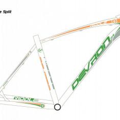 """Bicicleta Devron Riddle H1.6 Orange Split, L – 495/19.5""""PB Cod:215RM164998 - Mountain Bike"""