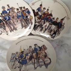 Farfurii de colectie Villeroy & Boch, cca 1880 - Portelan