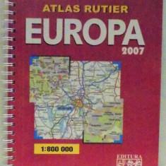 ATLAS RUTIER, EUROPA 2007