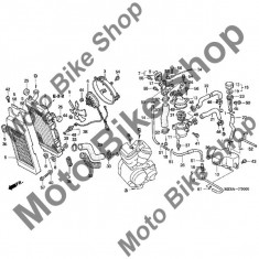 MBS Vas expansiune 2005 Honda SHADOW VLX (VT600C) #10, Cod Produs: 19101MR1010HO - Radiator racire Moto