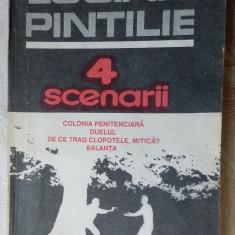 LUCIAN PINTILIE: 4 SCENARII/1992(COLONIA PENITENCIARA/DUELUL/DE CE TRAG/BALANTA) - Carte Cinematografie