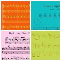 Cursuri de compozitie, chitara, bas, pian