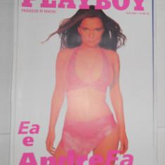 PLAYBOY IULIE 2002 + SUPLIMENT - Pictorial ; ANDREEA ANTONESCU - Revista barbati