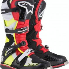 MXE Cizme motocross Alpinestars Tech 8 RS culoare Negru/Rosu/Galben Cod Produs: 34101511PE