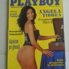 PLAYBOY MARTIE 2001 - Pictorial ANGELA TIBREA - Revista barbati
