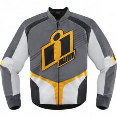 MXE Geaca moto textil Icon Overlord 2, galben Cod Produs: 28203121PE - Imbracaminte moto