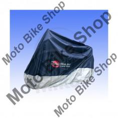 MBS Prelata moto impermeabila 264x104x130, albastru/argintiu, peste 1000cc, Cod Produs: 7115500MA - Husa moto