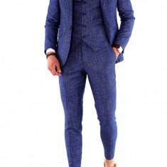 Costum - sacou + pantaloni + vesta - costum barbati 8464, Marime: 44, 48, 52, 54, Culoare: Din imagine