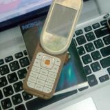 Vand nokia 7370 impecabil, ca NOU !! - Telefon mobil Nokia 6300, Argintiu, Neblocat