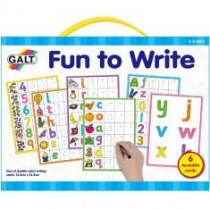 Set Invata sa Scrii Litere si Cifre - Jocuri Logica si inteligenta Galt