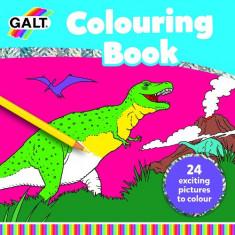 Carte de Colorat Lumea Dinozaurilor