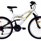 Bicicleta Kreativ 2441 (2017) Cadru 420mm AlbPB Cod:217244190 - Bicicleta copii