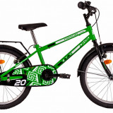 Bicicleta DHS Travel 2003 (2016) Culoare VerdePB Cod:216200380 - Bicicleta copii