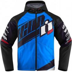 MXE Geaca textil moto Icon Team Merc, albastru deschis Cod Produs: 28203335PE - Imbracaminte moto