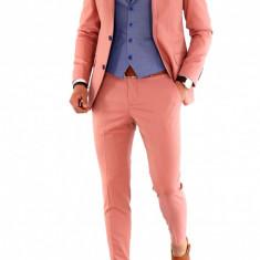 Costum - sacou + pantaloni + vesta - costum barbati 8461, Marime: 56, Culoare: Din imagine